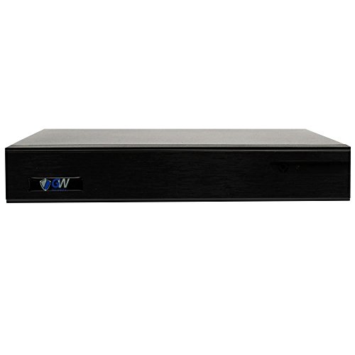 GW 9-Channel 4K NVR (9CH 1080p/4MP/5MP/6MP/8MP) H.265 Network Video Recorder - Supports Recording 8CH Up to 8-Megapixel 4K POE IP Cameras, Onvif Compliant