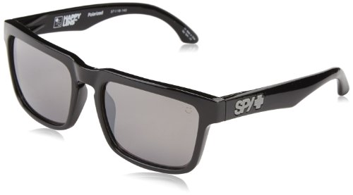 Femme Mirrow soleil Spy Helm Black Black Bronze Lunette de Rectangulaire Happy Polar 1RFxwXAqBF