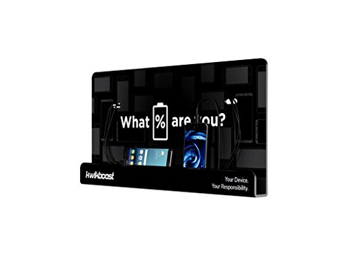 Wall Mount Cell Phone Charging Station by KwikBoost, Multi-Device Charging for up to 8 Devices including iPhone, iPad, Samsung, Tablets, and more. Great for School, Office, Business. and Events. by KwikBoost (Image #2)