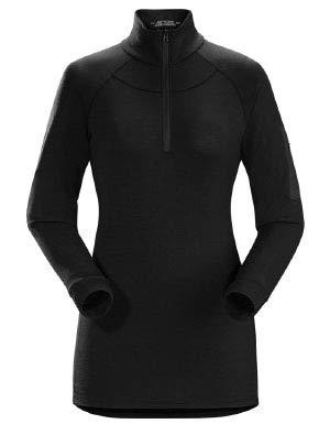 Arc'teryx Satoro AR Zip Neck LS Women's (Black, Medium)