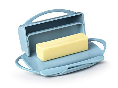 (Butterie Flip-Top Butter Dish with Matching Spreader (Light)