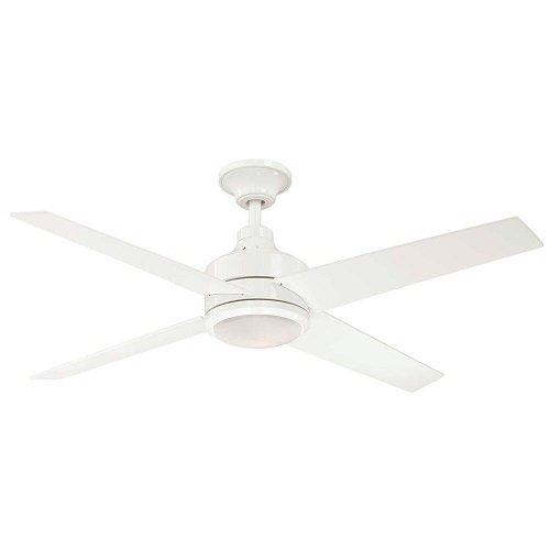 Hampton Bay Mercer 52 In. White Ceiling Fan by Hampton Bay by Hampton Bay