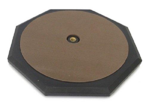 DRUM PRACTICE PAD - BLUE 8'' Silent Rubber Foam Octagon - Percussion NEW