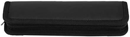Monllack 6 Teile/Satz Hochwertigem Edelstahl Dentallabor Kit Zahnarzt Chirurgische Wachs Carving Zähne Werkzeug Set Mit Tasche