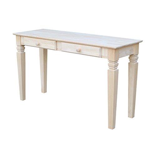 amazon com international concepts ot 60s2 java sofa table with 2 rh amazon com unfinished sofa tables sale unfinished sofa tables for sale