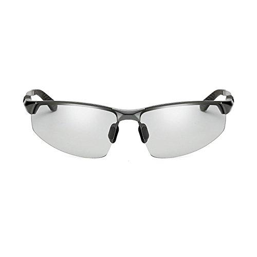 de de Hombres 2 conduciendo de de de conducen Día de Que Color Sol Gafas 2 polarizadas Cambio DT los de Gafas Gafas a Día Conductor Color Pesca Sol wF1qPUx