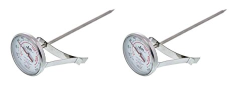 """Update International  5 1/2""""-Long Dial Frothing Thermometer"""