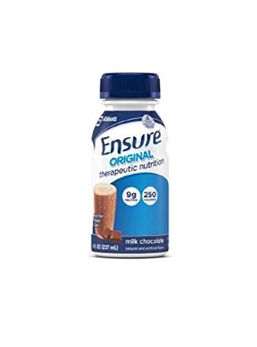 (24 Ensure Original Therapeutic Nutrition Chocolate Oral Supplement 8 oz)