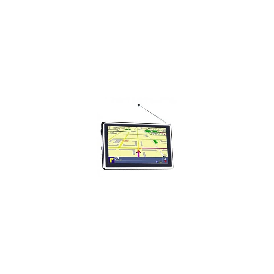 Car Kit GPS Navigation System 5.0 inch TFT Touch Screen