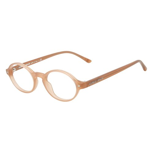 - GIORGIO ARMANI Eyeglasses AR 7008 5009 Matte Peach 46MM