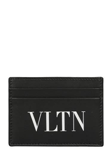 Black Men's Leather Qy0p0448lvn0no Leather Qy0p0448lvn0no Garavani Holder Valentino Men's Black Card Garavani Valentino 6qwIacnEF