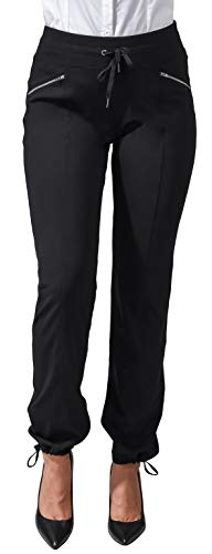 90 Degree By Reflex Work It Pant - Business Casual Work Pants for Women (Large, Classic Black)