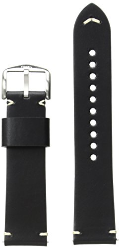 Fossil S221366 22mm Leather Calfskin Watch Strap