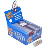 (Self Closing Plastic Quarter Coin Wrappers (Packed 500) )