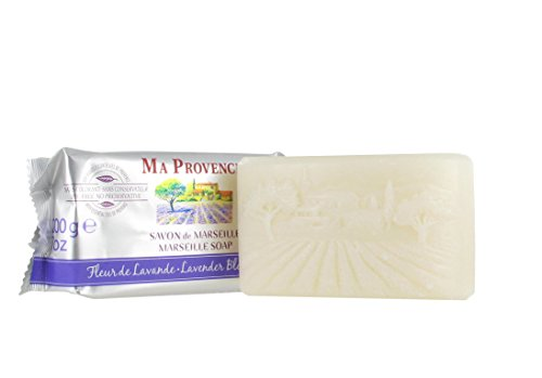 Ma Provence Marseille Bar Soap Lavender Blossom 7 Oz. From France