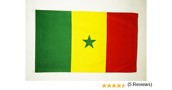 AZ FLAG Bandera de Senegal 150x90cm - Bandera SENEGALESA 90 x 150 ...