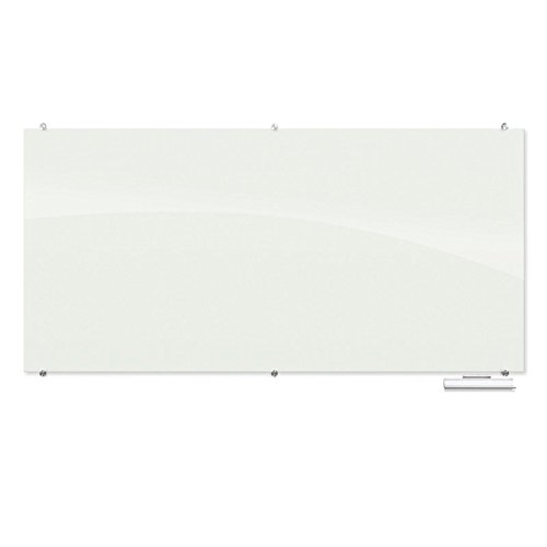 Best-Rite Visionary 8' x 4' Magnetic Glass Whiteboard by Best-Rite