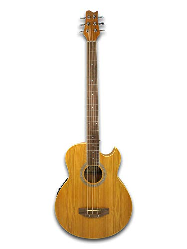 6 String Acoustic Electric Cutaway Bass Guitar ()