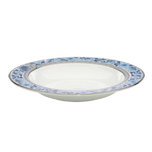 Lenox Marchesa Couture Pasta/Rim Soup Bowl, Sapphire Plume
