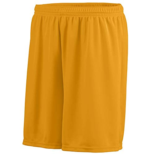 Augusta Sportswear Boys' Octane Short L Gold ()
