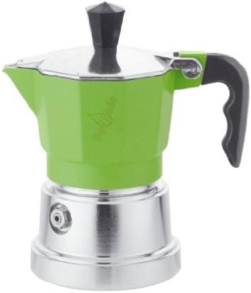 Top Moka top01 verde/plata cafetera: Amazon.es: Hogar