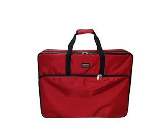 Mascot Metropolitan Tutto Embroidery Bag Extra Large, X, Red ()