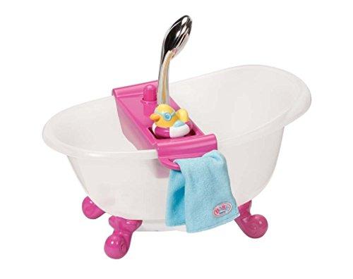 Zapf Creation 818183 - Baby Born Interactive Badewanne mit Ente, Babypuppen und Zubehör