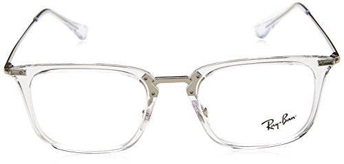 Ray-Ban rx7141 2001 50 au verres transparents RX7141 2001 50 Clear Transparent