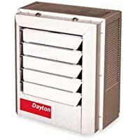 Dayton 7.5/10kW Electric Unit Heater, 1 or 3-Phase, 208/240V, 2YU69