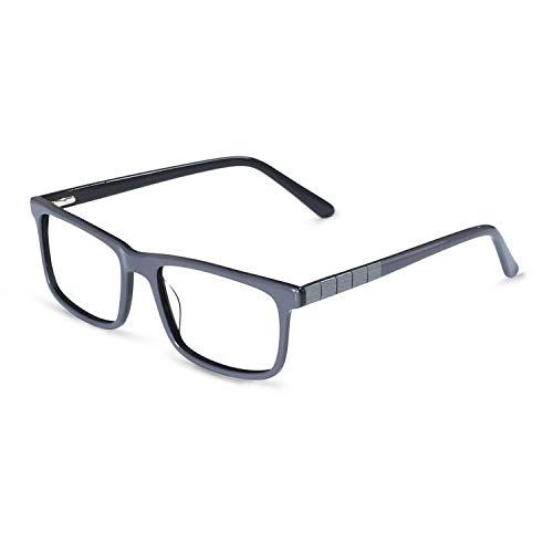 - OCCI CHIARI RX Glasses Frame Optical Eyeglasses Fashion Eyewear Non-Prescrition For Men Gray