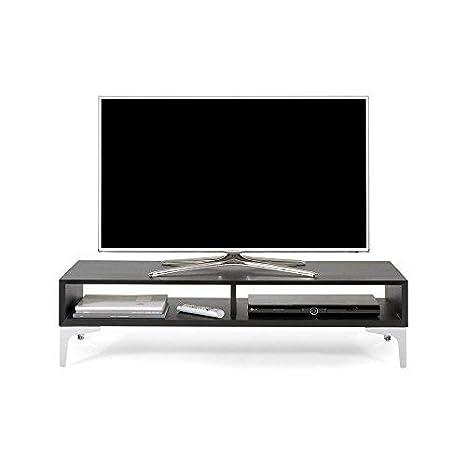 Mobili Fiver Deep Mobile Porta TV, Legno, Frassino Nero, 112x40x27 ...