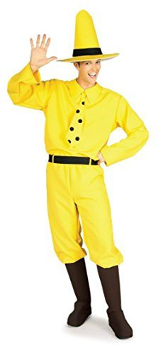 Man in the Yellow Hat Adult Costume - Standard