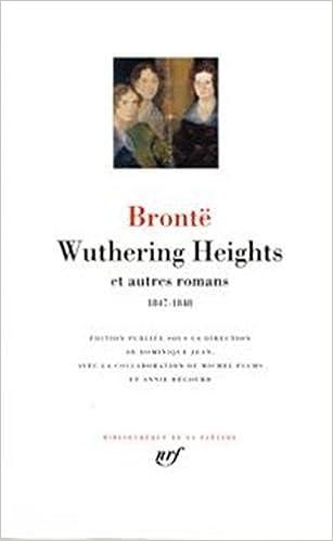 En ligne Wuthering Heights et autres romans epub, pdf
