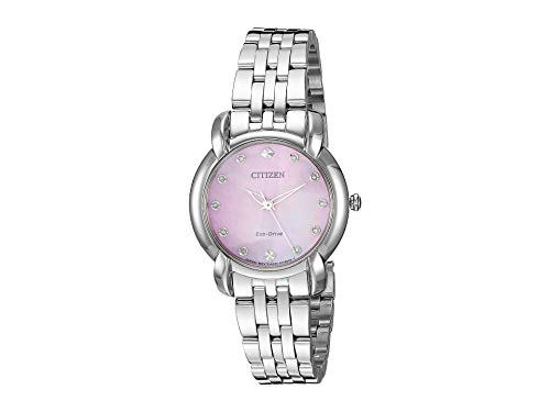 Citizen Watches Women's EM0710-54Y Jolie Silver Tone One Size