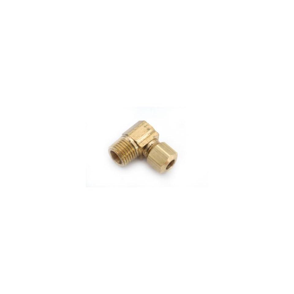 Anderson Metals 750069 0606 3/8 Inch  by 3/8 Inch  Compression Elbow