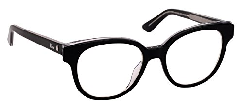 Christian Dior Women's Eyewear Frames CD Montaigne1 50mm Black Crystal ()
