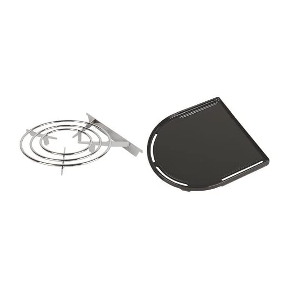 Coleman RoadTrip Swaptop Steel Stove 1 Chrome plated steel wire construction Fits all LX family Coleman grills Easy to clean with a brush