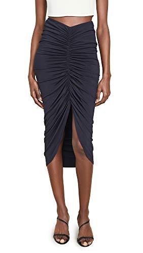 Bailey 44 Women's Santorini Rouched Skirt, Midnight, Medium