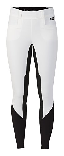 - Kerrits Griptek II Fullseat Breech (White, Small)