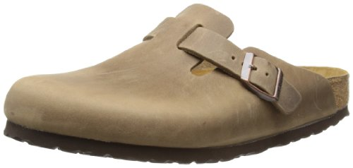 - Birkenstock Boston, Unisex Adults' Clogs, Brown (Tabacco Brown),8 UK