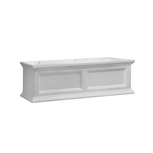 Cheap Mayne Fairfield 5822W Window Box Planter, 3-Foot, White