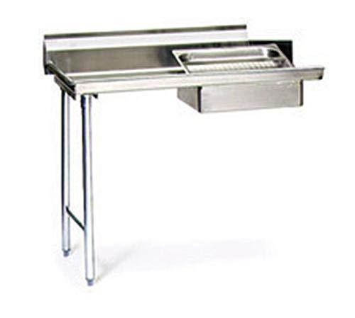 Standard Dishtable (Eagle Group Sdt-60-16/3-X 60Inch Soiled Dishtable, 16/3 Stainless Steel)