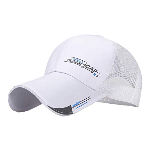 Toppers Classic Visor Hat - Excursion Sports Mesh Baseball Cap, Classic Casual Summer Sun Protection Curved Visor Hat, Breathable Comfy Cap for Tennis Running Golf