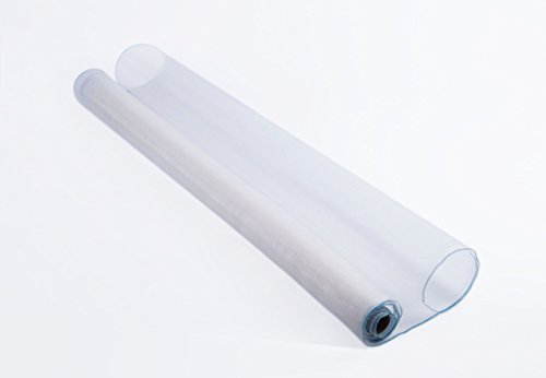Shatex Roll Anti-mosquito Window Screen Mesh, Nylon, White, 36'x25ft