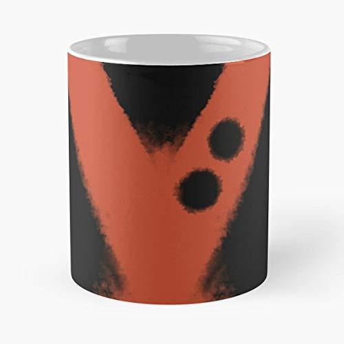 Orange Black Bakugou Costume Funny Christmas Day Mug Gifts Ideas For Mom - Great Ceramic Coffee Tea -