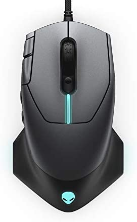 Alienware Gaming Mouse 510M RGB Gaming Mouse AW510M: 16, 000 DPI Optical Sensor – Alienfx RGB – 10 Buttons – Adjustable Scroll Wheel – Large Click Anywhere L/R Buttons 311rXegIn1L