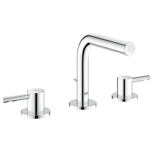 Essence 8 in. Widespread 2-Handle Low-Arc Bathroom Faucet