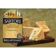 Bellavitano Gold 1/4 Wheel Cheese, 5 Pound -- 4 per case.