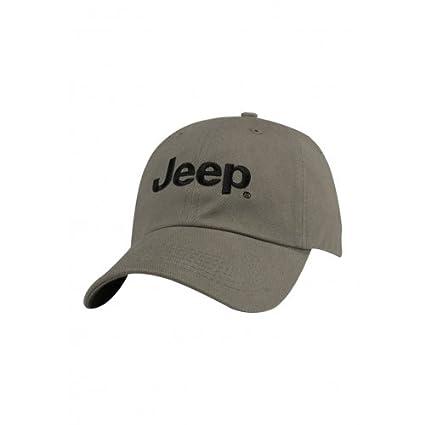 Jeep Gorra Logo Gris – 11hw2: Amazon.es: Coche y moto