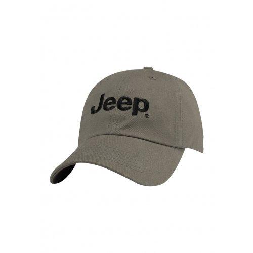 Jeep Basic Logo Grey Cap - 11HW2